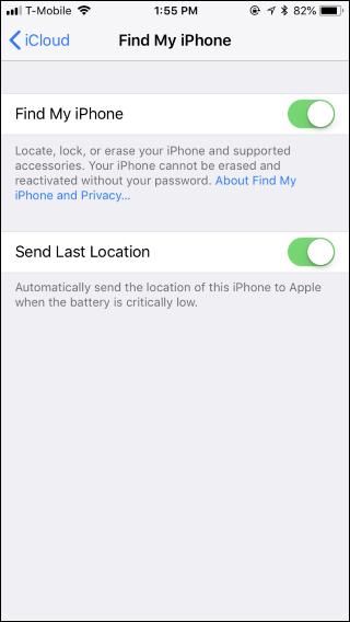 """ویژگی """"Find My iPhone"""" آیفون"""