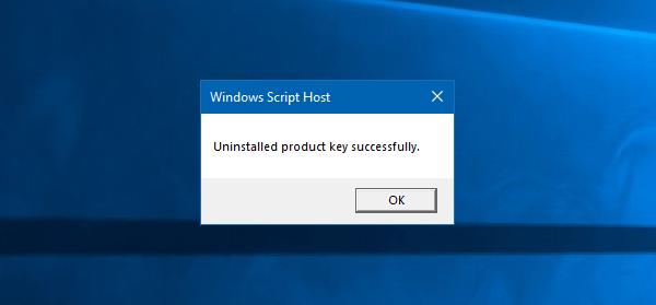 حذف لایسنس ویندوز