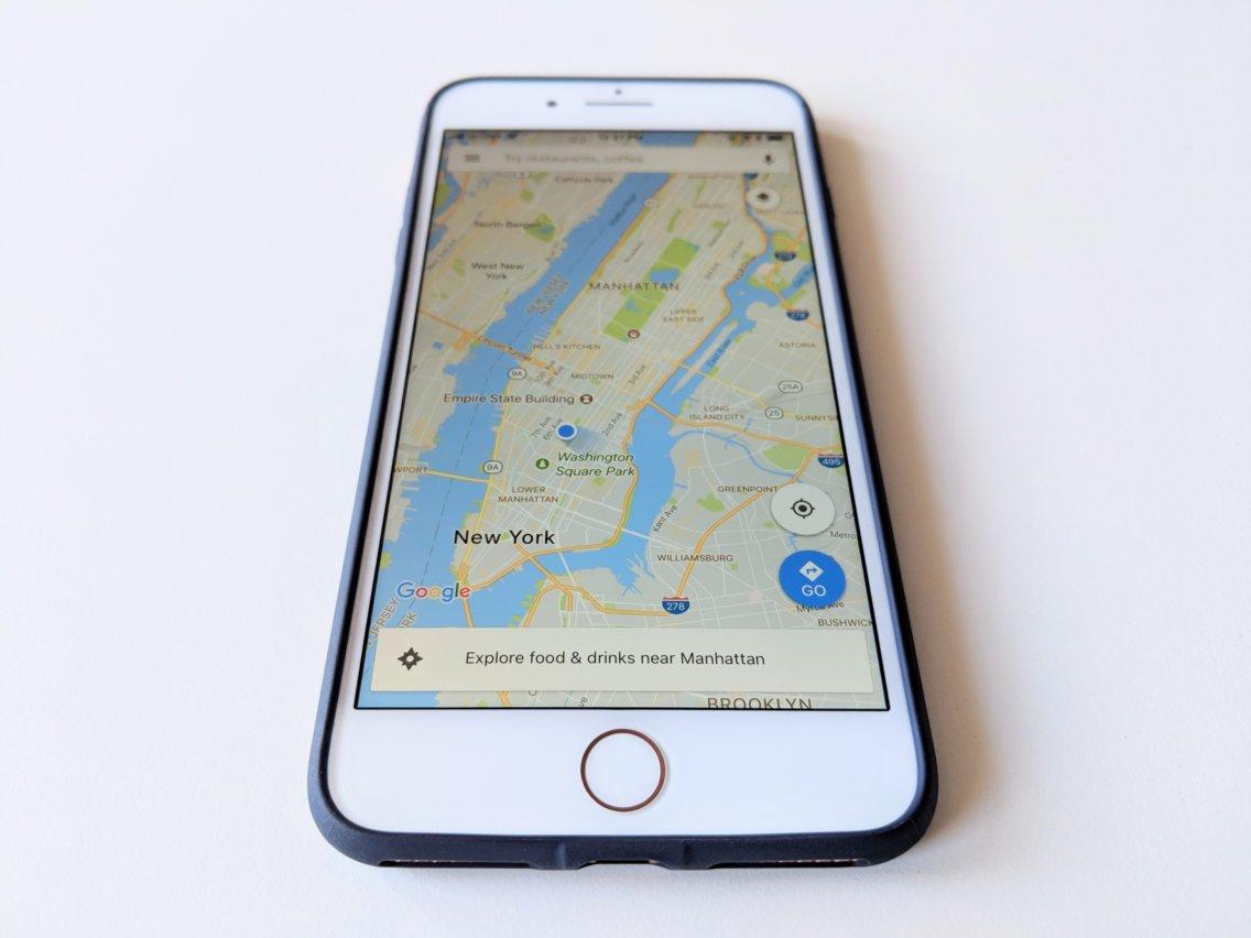 10 برنامه برتر اپ استور در سه ماه سال 2018، Google Maps