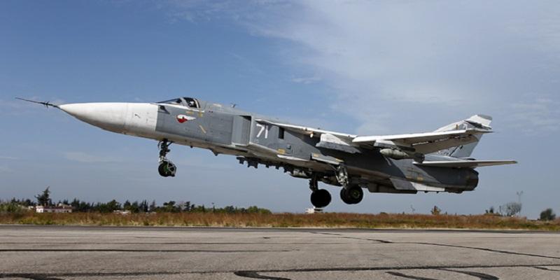 ۱۱ مدل از هواپیما و جت نظامی روسیه که در سوریه مستقر هستند