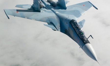 جنگنده ی روسی Su-30SM