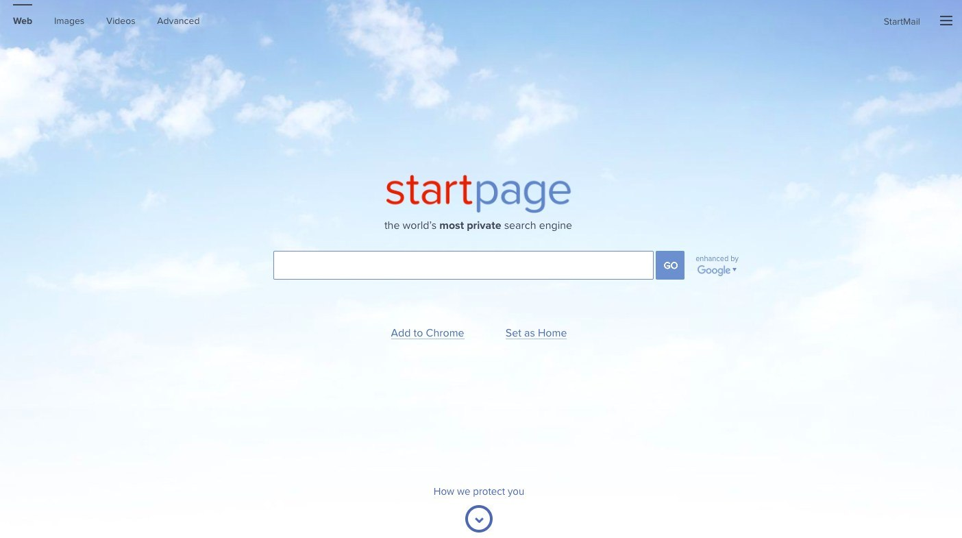موتور جستجو StartPage