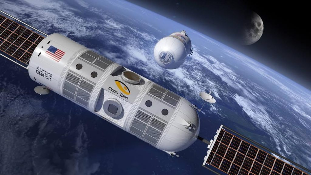 هتل فضایی و لوکس ایستگاه Aurora