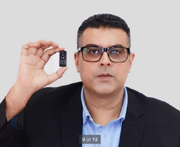 کوچکترین تلفن همراه دنیا: the Zanco Tiny T1