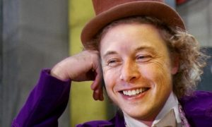 Elon Musk می گوید که پروژه ی بعدی او ساخت یک کمپانی تولید آب نبات است!