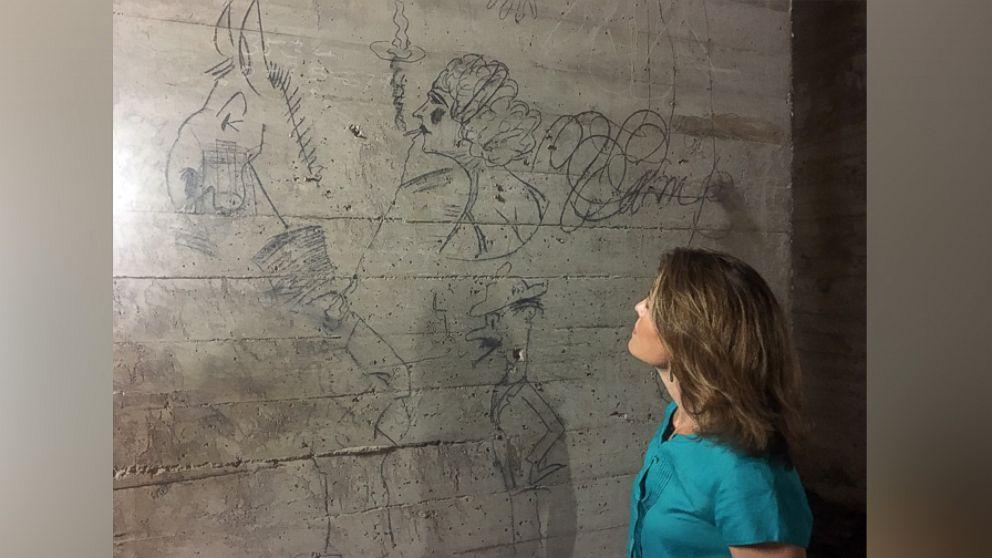 دیوار نوشته های تاریخی در بنای یادبود لینکون