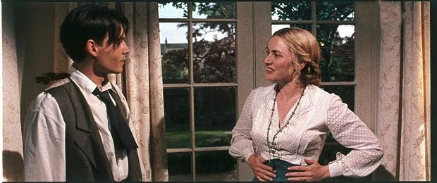 هنرنمایی Johnny Depp و Kate Winslet در فیلم Finding Neverland