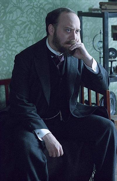 پل جیاماتی در نقش بازرس اوهل، فیلم The Illusionist