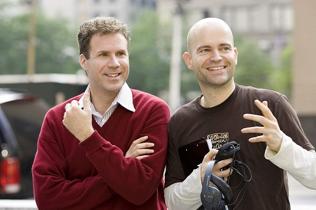 Will Ferrell و کارگردان فیلم Marc Forster