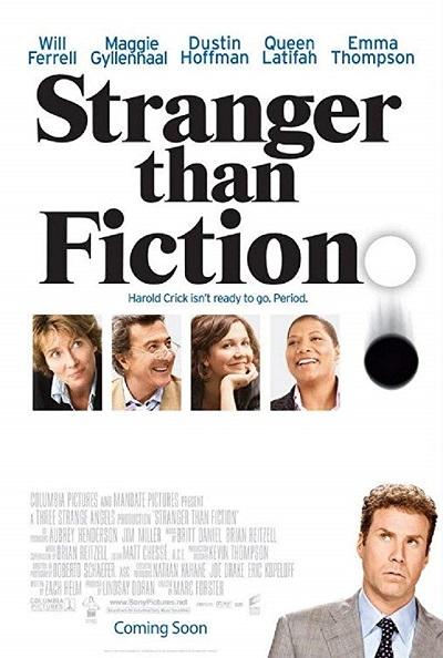 پوستر فیلم Stranger than Fiction عجیب تر از داستان