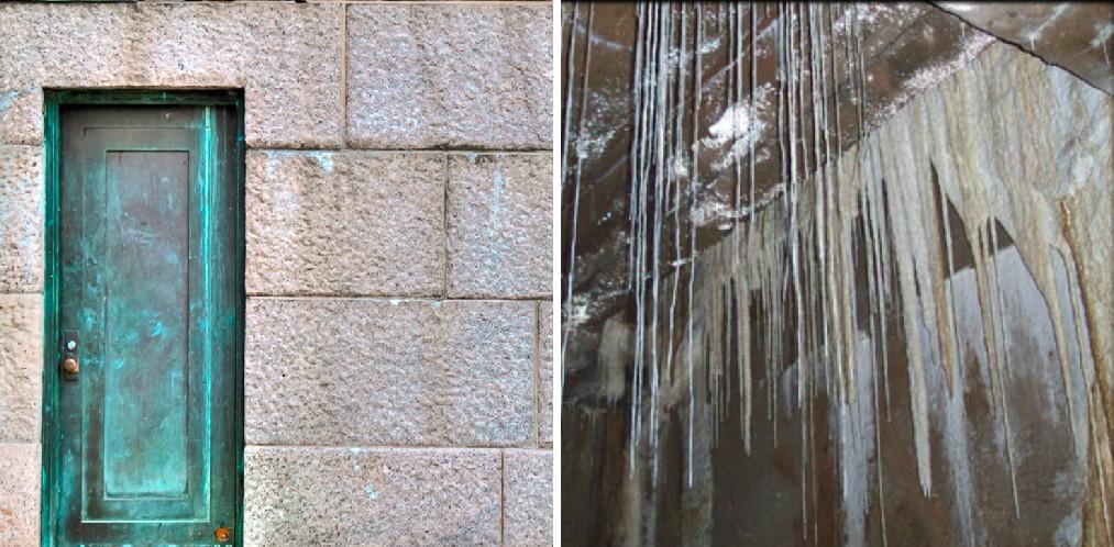در مخفی بنای یادبود آبراهام لینکون