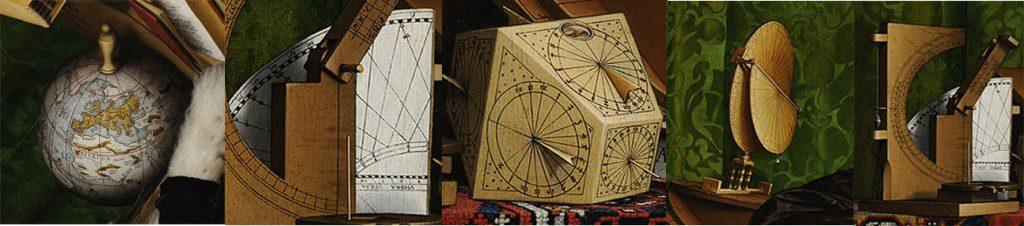 اشیاء و تجهیزات درون نقاشی