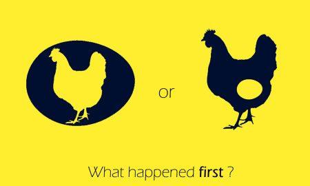 اول مرغ بوده یا تخم مرغ