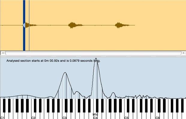 در اصطلاحات موزیک، هجای اول یک اوکتاو است که عمدتا از C وسطی و C زیری تشکیل شده است. (فرکانس ها 261 و 130 هرتز هستند، اما بهتر است که در این مورد از فواصل موسیقیایی صحبت کنیم زیرا روابط به همان اندازه ی فرکانس ها مستقل باقی می مانند.)