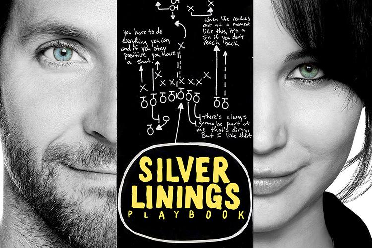 فیلم Silver Linings Playbook به خوبی در سکانس مسابقهی رقص تفاوت آدمهای عادی و آدمهای داستان ما را نشان میدهد.