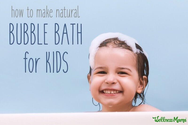 حمام کف و حمام سم زدا برای کودکان