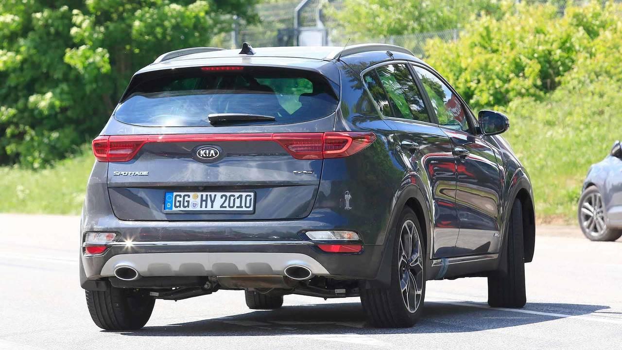 درز تصاویری جاسوسی از Kia Sportage 2019