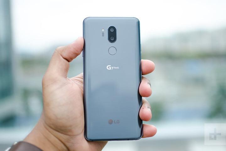 مقایسه الجی G7 ThinQ و گلکسی S9+