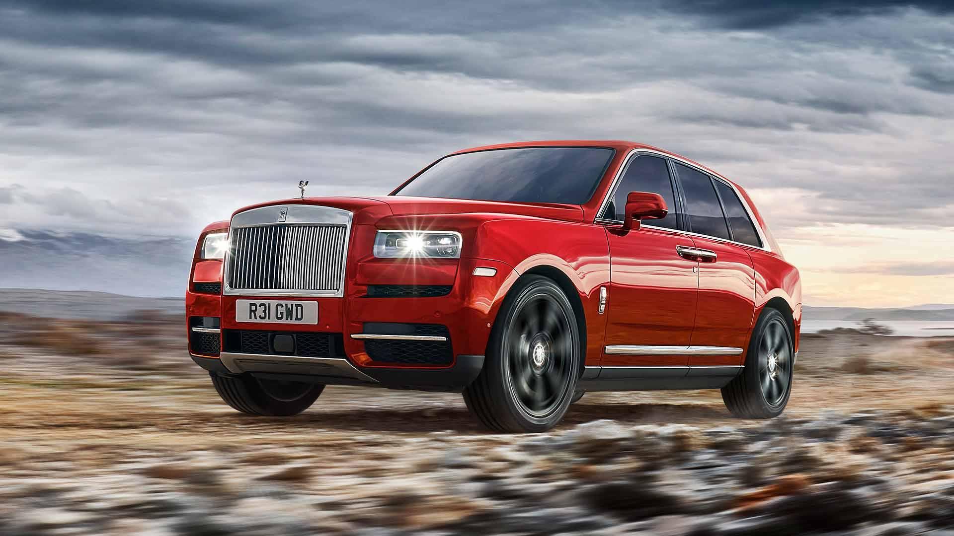رولز رویس کالینان Rolls Royce Cullinan