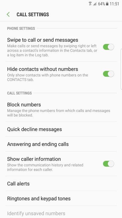 آموزش مسدود کردن تماس دریافتی در گوشی سامسونگ