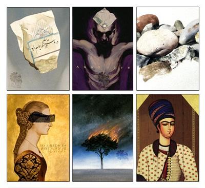 تعدادی از نقاشیهای آیدین آغداشلو