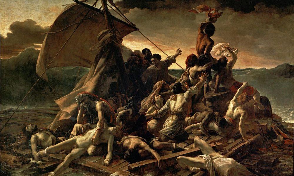 تابلوی بازماندگان کشتی مدوسا اثر تئودور ژریکو