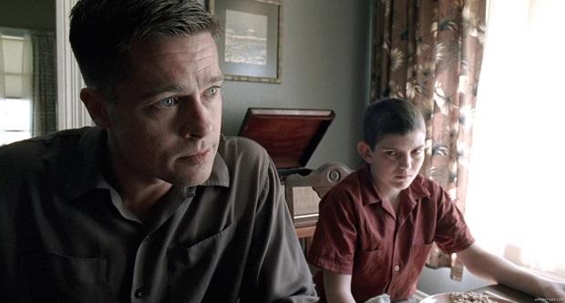 هنرنمایی Brad Pitt و Hunter McCracken در فیلم The Tree of Life