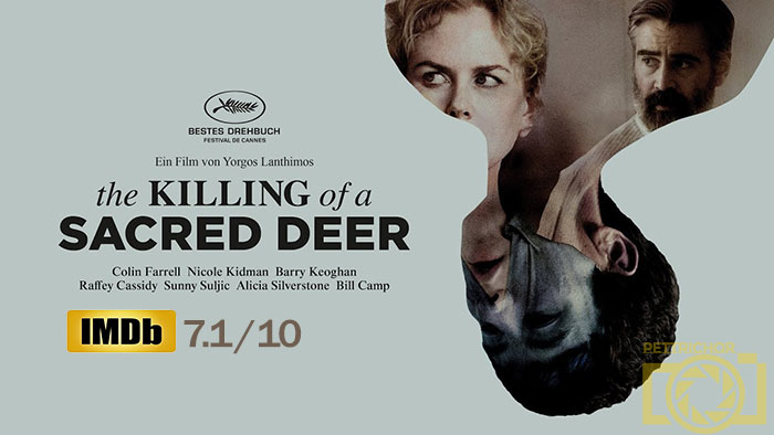 The killing of scared deer کشتن گوزن مقدس اثر یورگوس لانتیموس
