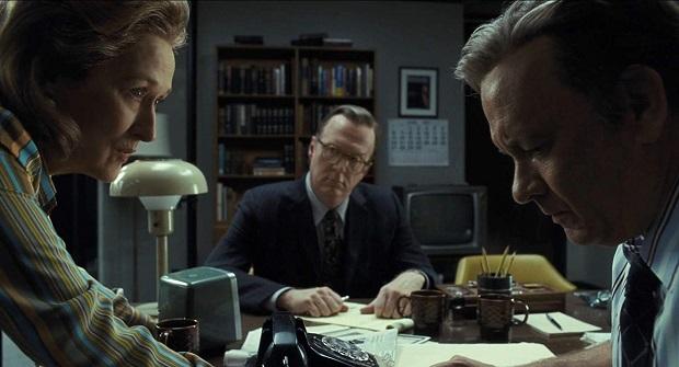 هنرنمایی Tom Hanks و Meryl Streep در فیلم The Post