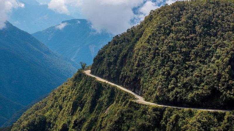 خطرناک ترین جاده دنیا ، جاده مرگ در بولیوی