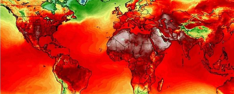 زمین در آتش! رکوردهای گرمای جهانی بی سابقه