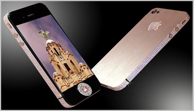 Diamond Rose iPhone، گران ترین گوشی دنیا