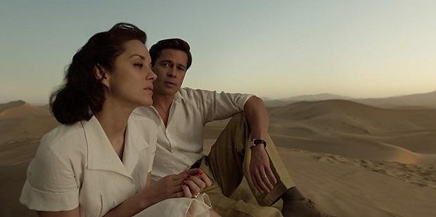 هنرنمایی Brad Pitt و Marion Cotillard در فیلم Allied
