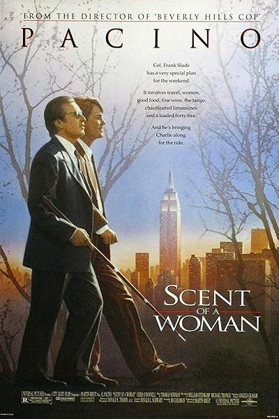 پوستر فیلم بوی خوش زن Scent of a Woman فیلمی از مارتین برست