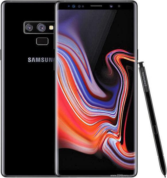 Galaxy Note 9 مشکی رنگ