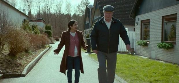 هنرنمایی Rolf Lassgård و بهار پارس در فیلم مردی به نام اوه