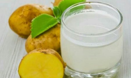 آب سیب زمینی در درمان بیماری ها معجزه می کند!