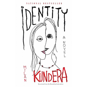 درونمایه رمان هویت همانطور که از عنوانش دریافت میشود هویت است. هویت انسان معاصر و سرگشتگیاش در دنیای کنونی موضوع و تم این رمان است.