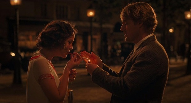 هنرنمایی Owen Wilson و Marion Cotillard در فیلم Midnight in Paris