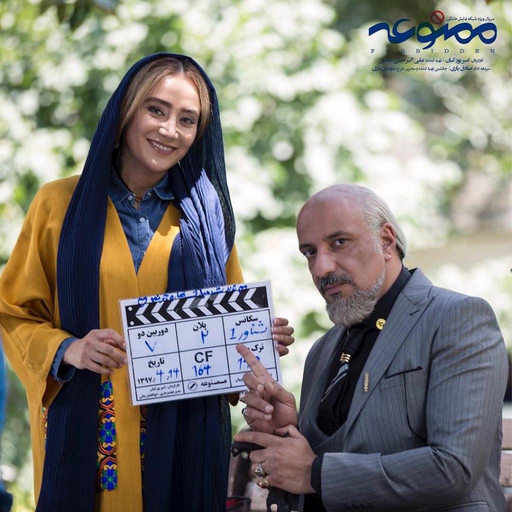 هنرنمایی اکیر جعفری در نقش تجنگی و بهاره افشاری در نقش ترانه مشایخ