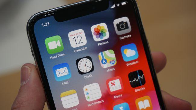 نمایشگر iPhone XS