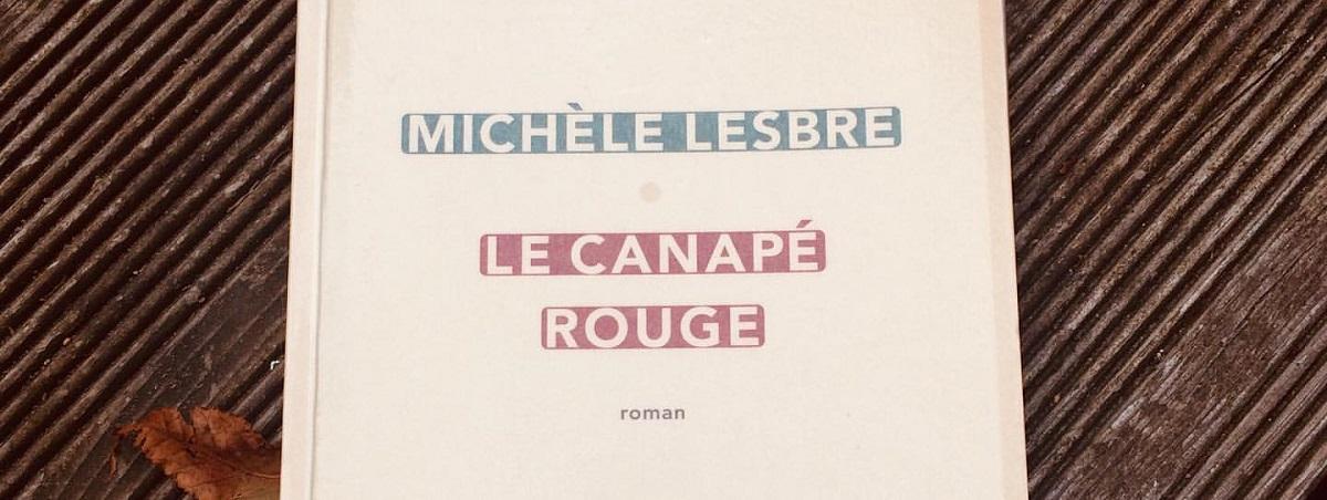 رمان کاناپه قرمز نوشتهی میشل لبر