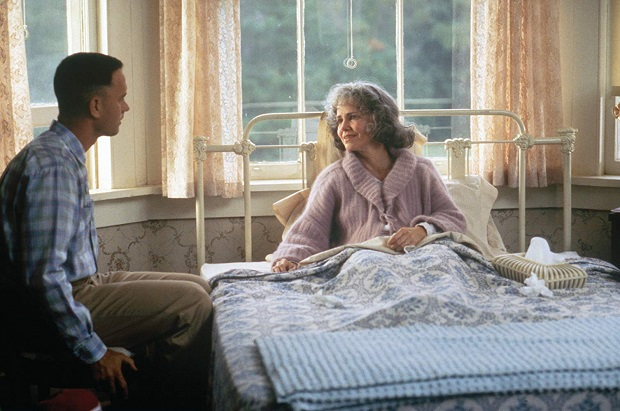 هنرنمایی خاطره انگیز Tom Hanks و Sally Field در فیلم Forrest Gump فارست گامپ