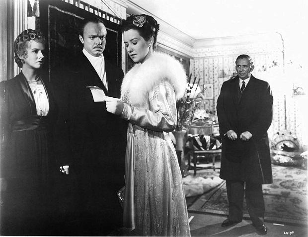هنرنمایی Orson Welles, Ray Collins, Dorothy Comingore و Ruth Warrick در همشهری کین