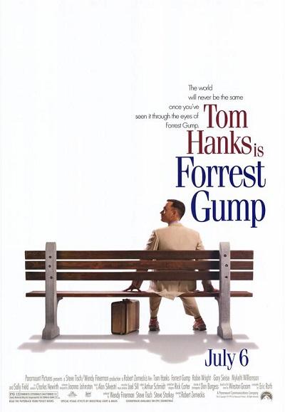 پوستر فیلم فارست گامپ Forrest Gump