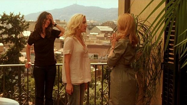 نقش آفرینی Patricia Clarkson, Rebecca Hall و Scarlett Johansson در فیلم Vicky Cristina Barcelona