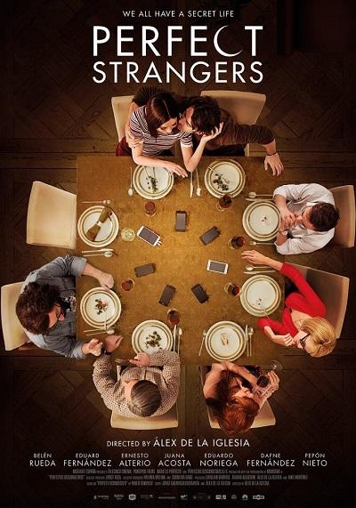 پوستر فیلم Perfect Strangers از سینمای ایتالیا (با نام اصلی Perfetti sconosciuti)