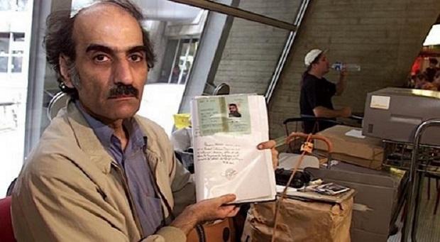 تصویر منتسب به مهران کریمی ناصری که ایده اصلی فیلم The Terminal ساخته استیون اسپیلبرگ بوده است