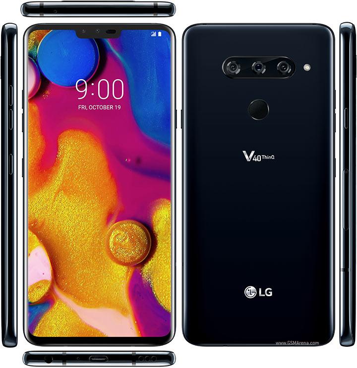بررسی LG V40
