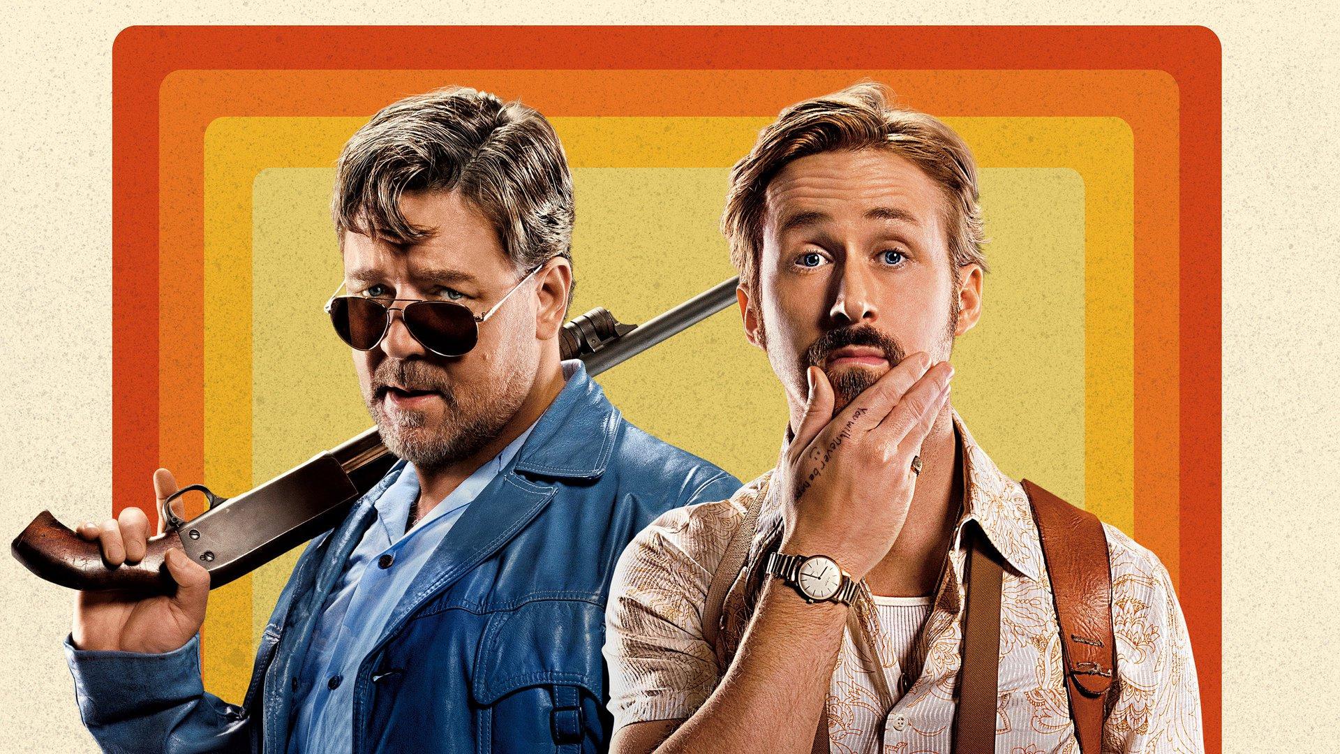 هنرنمایی Russell Crowe و Ryan Gosling در فیلم The Nice Guys ساختهی شین بلک